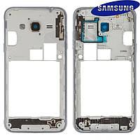 Средняя часть корпуса для Samsung Galaxy J3 (2016) J310, черная, оригинал