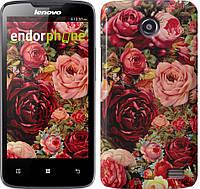 """Чехол на Lenovo A66 Цветущие розы """"2701u-290-183"""""""