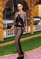 Красивый женский комбинезон с кружевом t-t6110615