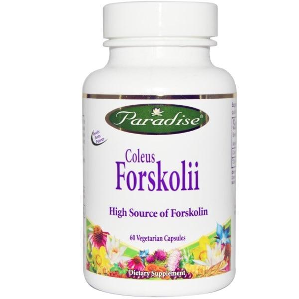 Paradise Herbs, Колеус форсколии, 60 капсул в растительной оболочке
