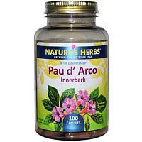 Natures Herbs, Кора муравьиного дерева, внутренняя кора, 100 капсул