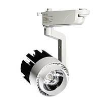 """Светодиодный трековый светильник """"Vela"""" VL-1025 30W 3000Лм 4000К черно-белый 40°, фото 1"""