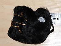 Волос для кукол, синтетика. Канекалон.  Тресс, длина  12 см. (упаковка - 1 метр.)