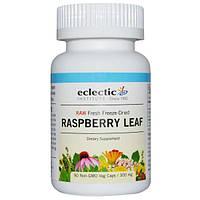 Eclectic Institute, Лист малины, 300 мг, 90 растительных капсул без ГМО