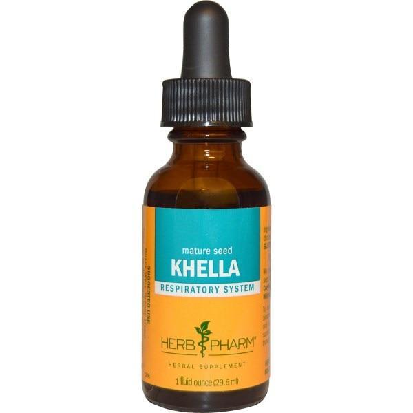 Herb Pharm, Виснага, респираторная система, 1 жидкая унция (29,6 мл)
