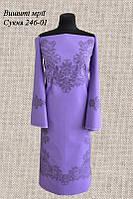 Платье 246-01 без пояса