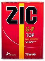 Трансмиссионное масло ZIC G-F TOP 75W-90 4л.