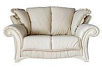 """Стильный кожаный диван """"Mayfaer"""" (Майфаер) Двухместный (178 см), Французская раскладушка, натуральная кожа"""