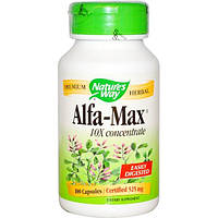 Natures Way, Alfa-Max, концентрация 10X, 100 капсул
