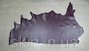 Натуральная кожа для кожгалантереи и обуви фиолетового цвета, толщина 1.4 мм, арт. СК 2140, фото 2