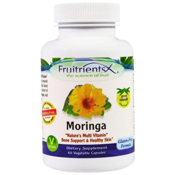 Fruitrients, Моринга, 60 вегетарианских капсул