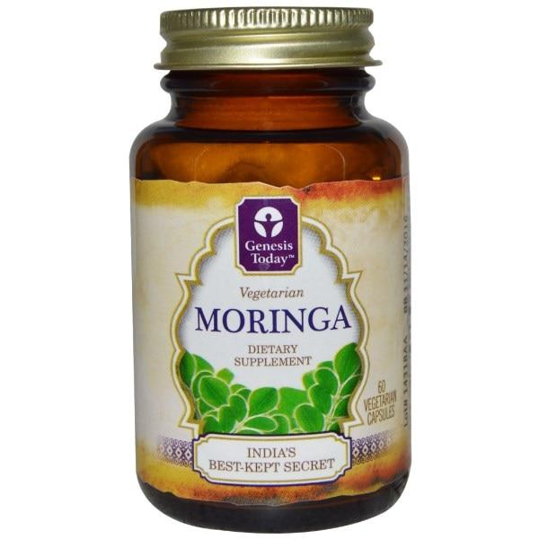 Genesis Today, Моринга, 60 растительных капсул