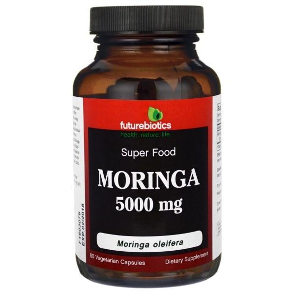 FutureBiotics, Моринга, 5000 мг, 60 Растительных капсул