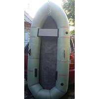 Двухместная надувная резиновая лодка Дельфин
