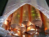 Медный пруток М2ф 60*3000 мм (медный прокат)