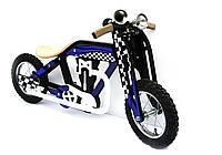 """Беговел (велобег) классический """"Bartka"""" (сине-чёрный)"""