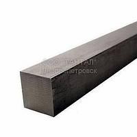 Шпоночный материал квадратного сечения, 1 метр, ГОСТ 2591-88, сталь 35