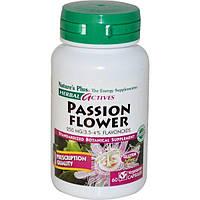 Natures Plus, Растительная активность, пассифлора, 250 мг, 60 вегетарианских капсул
