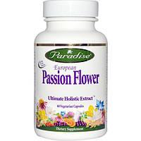 Paradise Herbs, Европейский страстоцвет, 60 растительных капсул