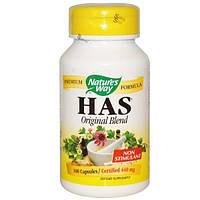 Natures Way, HAS, оригинальная смесь, 440 мг, 100 капсул
