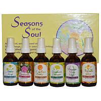 Flower Essence Services, Seasons of the Soul, 6 бутылок, 2 жидких унций (60 мл) каждая