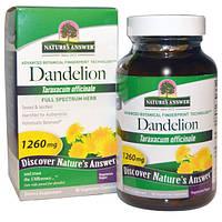 Natures Answer, Одуванчик, 1260 мг, 90 растительных капсул