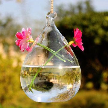 Вазы стеклянные подвесные
