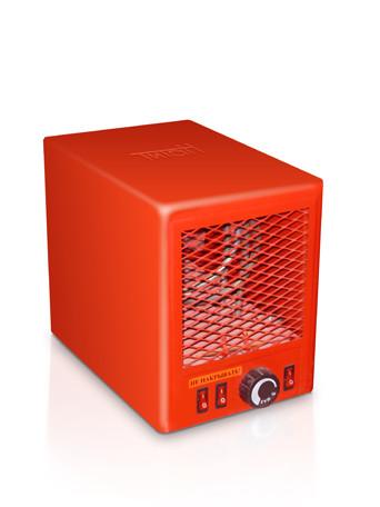 Електричний тепловентилятор Титан 1,8 кВт 380В 2 ступінь