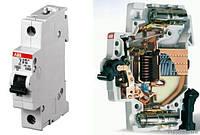 Автоматический выключатель  16A 6кА 1- полюс (тип C) (SH201-C16 ABB)