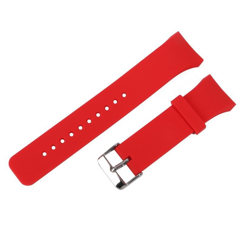 Силиконовый ремешок для Samsung Gear S2 Sports SM-R720 / SM-R730 Red