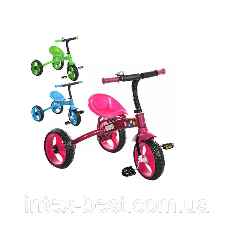 Трехколесный велосипед PROFI KIDS M 3253B (Голубой)