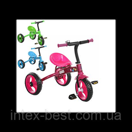 Трехколесный велосипед PROFI KIDS M 3253B (Голубой), фото 2