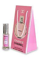 Женский мини-парфюм Chanel Chance Eau Tendre в подарочной упаковке 30 мл