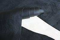 Натуральная кожа для кожгалантереи черная, толщина 1.4 мм, арт. СК 1046, фото 1