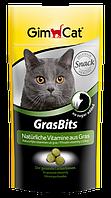 Лакомство Gimcat GrasBits для кошек с травой, 60 шт