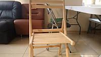 Деревянный стул #Пикник