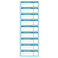 Ламинированные таблички-ценник 30х10 см, фото 1