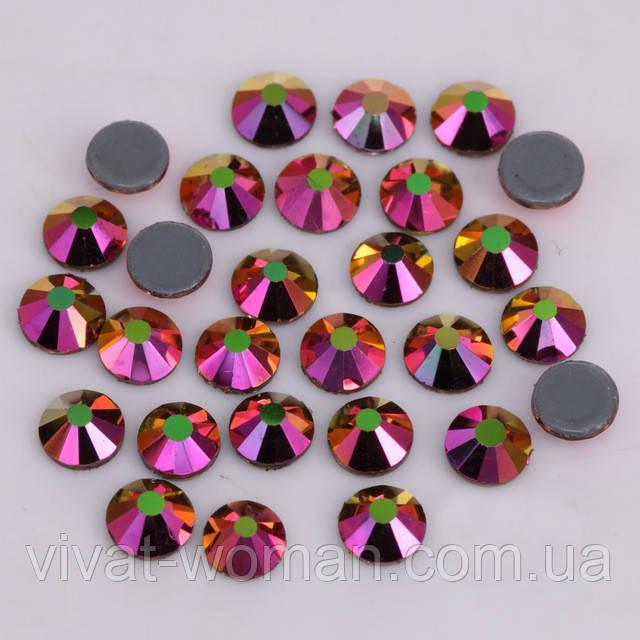 Стразы А+ Премиум, Rainbow Rose Gold SS20 (5,0 мм) термоклеевые. Цена за 144 шт.