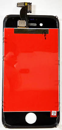 Модуль iPhone 4S с рамкой дисплей экран, сенсор тач скрин для телефона смартфона, фото 2