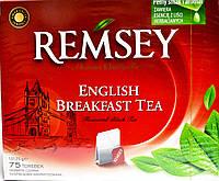 Чай черный Remsey English Breakfast Tea75 пакетиков