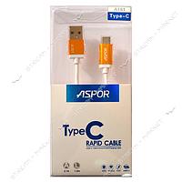 USB кабель Aspor A161 Type-C.