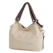 Стильная женская сумка WeidiPolo 3 Цвета бежевый