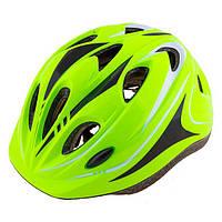 Шлем (велошлем) защитный от падений ADULT 503 (салатовый)