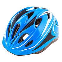 Шлем (велошлем) защитный от падений ADULT 503 (голубой)