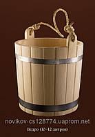 Ведро из дуба для бани 12 литров