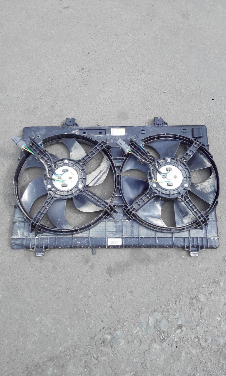 Диффузор+2 вентилятора в сборе б/у