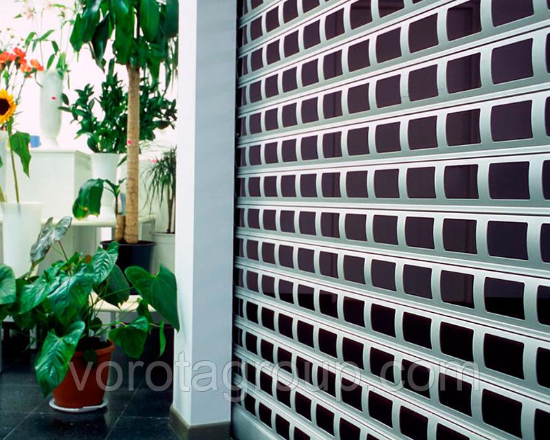 Ролетні решітки для вікон і воріт Alutech AEG84