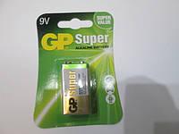 Батарейка GP 6LF22 крона 9V SUPER alkaline battery блистер