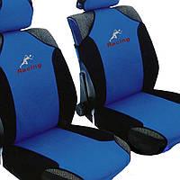 Майки сидения передние MILEX Racing сине-черные 23088/3/Р
