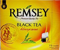 Чай черный REMSEY Black Tea klasyczna, 75 пакетиков.
